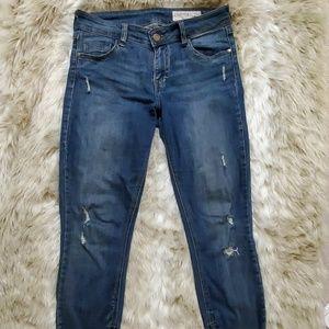 Pistola Tory Distressed Ankle Zip Skinny Jean